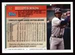 1994 Topps #52  Otis Nixon  Back Thumbnail