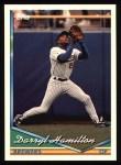 1994 Topps #435  Darryl Hamilton  Front Thumbnail