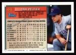 1994 Topps #441   Dan Peltier Back Thumbnail