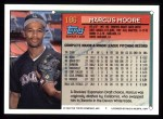 1994 Topps #186  Marcus Moore  Back Thumbnail
