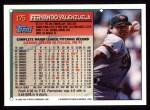 1994 Topps #175   Fernando Valenzuela Back Thumbnail