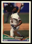 1994 Topps #359   Anthony Young Front Thumbnail