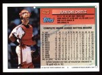 1994 Topps #423  Junior Ortiz  Back Thumbnail