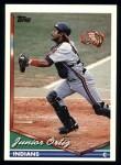 1994 Topps #423   Junior Ortiz Front Thumbnail
