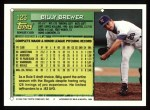 1994 Topps #123  Billy Brewer  Back Thumbnail
