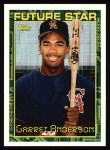 1994 Topps #84   Garret Anderson Front Thumbnail