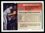 1994 Topps #164   Denis Boucher Back Thumbnail