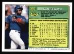 1994 Topps #259   Cliff Floyd Back Thumbnail