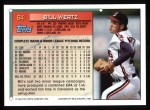 1994 Topps #64   Bill Wertz Back Thumbnail