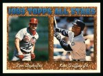 1994 Topps #388  All-Star  -  Ken Griffey  Jr. /  Lenny Dykstra Front Thumbnail