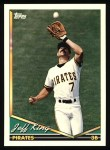 1994 Topps #44   Jeff King Front Thumbnail