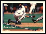 1994 Topps #332   Jose Lind Front Thumbnail