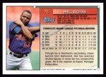 1994 Topps #78  Mel Rojas  Back Thumbnail