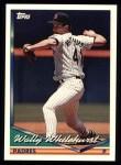 1994 Topps #486   Wally Whitehurst Front Thumbnail
