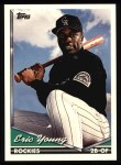 1994 Topps #712   Eric Young Front Thumbnail
