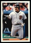 1994 Topps #327  Mark Carreon  Front Thumbnail