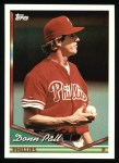 1994 Topps #328   Donn Pall Front Thumbnail