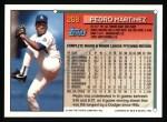 1994 Topps #268  Pedro Martinez  Back Thumbnail
