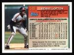 1994 Topps #149   Kenny Lofton Back Thumbnail
