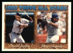 1994 Topps #389  All-Star  -  Juan Gonzalez  /  David Justice Front Thumbnail