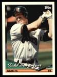 1994 Topps #398   Todd Benzinger Front Thumbnail