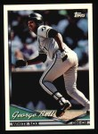 1994 Topps #214   George Bell Front Thumbnail