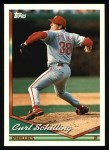 1994 Topps #142  Curt Schilling  Front Thumbnail