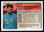 1994 Topps #227  Pat Rapp  Back Thumbnail