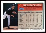 1994 Topps #49  Armando Reynoso  Back Thumbnail