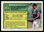 1994 Topps #112  Frankie Rodriguez  Back Thumbnail
