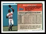 1994 Topps #166  Ron Gant  Back Thumbnail