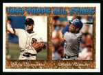 1994 Topps #385  All-Star  -  Roberto Alomar  /  Robby Thompson Front Thumbnail