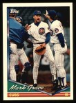 1994 Topps #360   Mark Grace Front Thumbnail