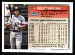 1994 Topps #254   Tim Teufel Back Thumbnail