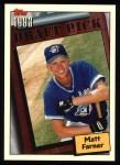 1994 Topps #203  Matt Farner  Front Thumbnail
