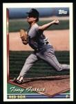 1994 Topps #378  Tony Fossas  Front Thumbnail