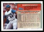 1994 Topps #20   Bryan Harvey Back Thumbnail