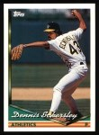 1994 Topps #465  Dennis Eckersley  Front Thumbnail