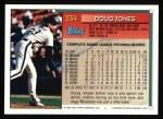 1994 Topps #334   Doug Jones Back Thumbnail