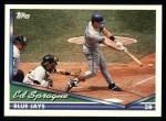 1994 Topps #426  Ed Sprague  Front Thumbnail