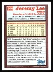 1994 Topps #206  Jeremy Lee  Back Thumbnail