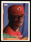 1994 Topps #69   Jacob Brumfield Front Thumbnail