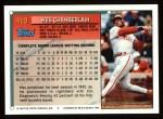 1994 Topps #419  Wes Chamberlain  Back Thumbnail