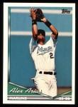 1994 Topps #104  Alex Arias  Front Thumbnail