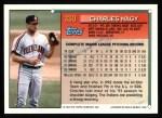 1994 Topps #330  Charley Nagy  Back Thumbnail