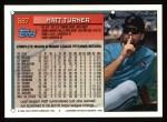 1994 Topps #587   Matt Turner Back Thumbnail