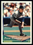 1994 Topps #415  Dave Fleming  Front Thumbnail