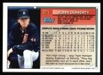 1994 Topps #371  John Doherty  Back Thumbnail