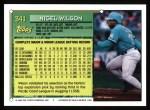 1994 Topps #341  Nigel Wilson  Back Thumbnail