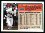1994 Topps #405  Don Slaught  Back Thumbnail